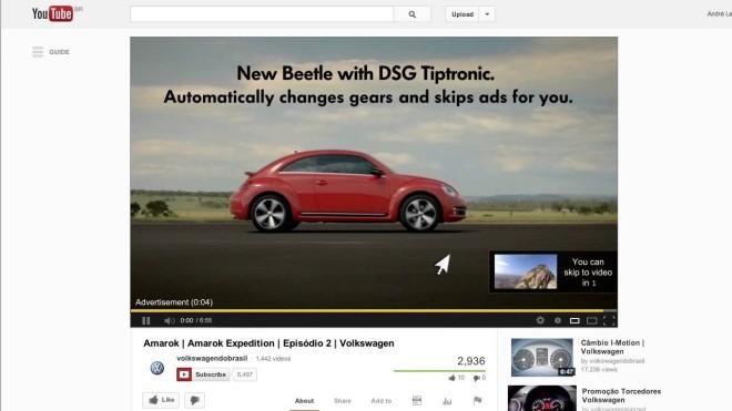 YouTube oglašavanje - TrueView in-stream oglas